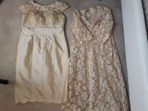 Prom or mother of the bride dress - Champagne