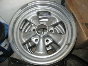 4 Cragar SS GM Wheels 14x6 + 1 Spare Wheel