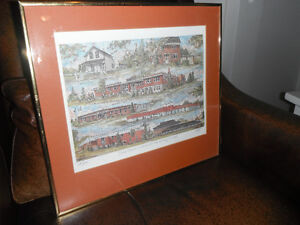 limited edition /numbered print by George Elliot Peterborough Peterborough Area image 1