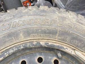 LIKE NEW - 4 TIRES WITH RIMS