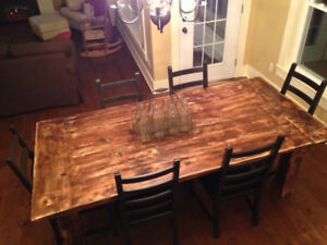Barn Board Tables & more