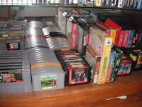 Looking to buy old retro video games and consoles ... Cash paid & willing to collect