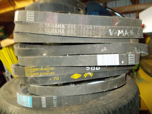 18 New and Used Snowmobile Drive Belts