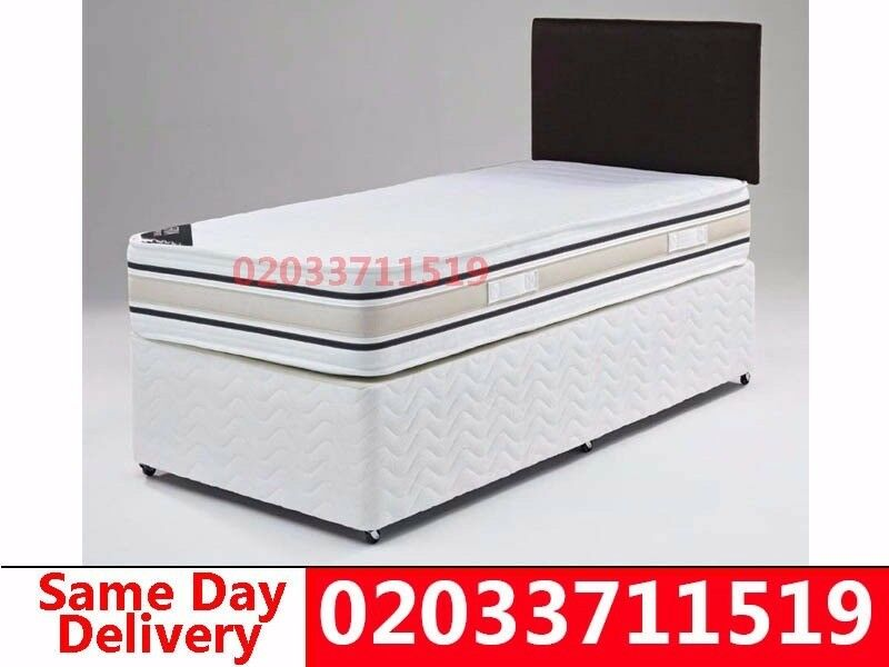 BRAND NEW DOUBLE SINGLE AND KINGSIZE DIVAN BED CALL NOW Stitzerin Islington, London - wow today 50%off For Placing An Order Please Call