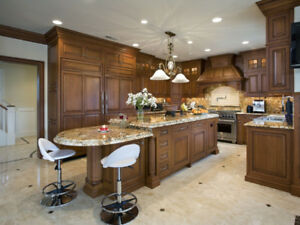 *SPECIAL DESIGNED KITCHEN AND BATH CABINETRY*