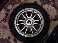 (4) Hankook Winter I Pike RS 235/55/17 with rims