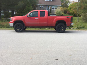 Lifted Gmc sciera 2011