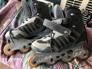 Mens Ultra Wheels Inline Skates Size 10