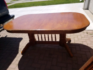 Nice Double pedestal Dining table