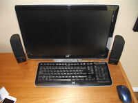 Perfect Condition HP desktop, everything included