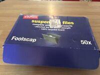 Suspension files - complete box of 50