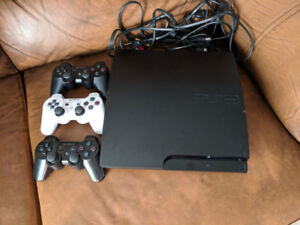 PS3 - 10 games - 3 controllers