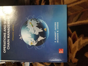 Operations And Supply Chain Management Textbook