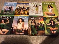 DVDS - SEASONS OF WEEDS, NURSE JACKIE, DOG BOUNTY HUNTER & MORE