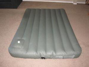 Woods Air Bed with Built-in-foot pump