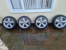 Alloy wheels audi,vw