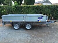 IFOR WILLIAMS 10x5ft6 DROPSIDE TRAILER
