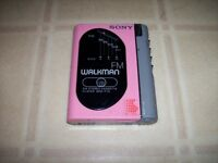 Vintage Sony Walkman WM-F70 (for parts or repair)