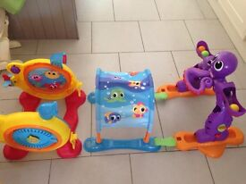 Learn to crawl, sit up and stand toy!