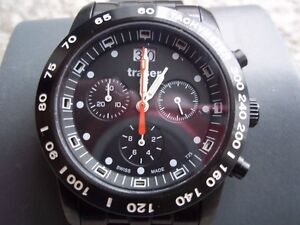 Traser H3 T25 Classic Chronograph Big Date Watch PVD-Coated Band Oakville / Halton Region Toronto (GTA) image 1