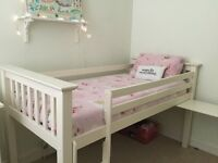 Julian Bowen white solid wood cabin bed excellent condition