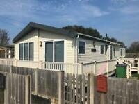 Willerby Clearwater Lodge on residential caravan park at Lydd, Kent