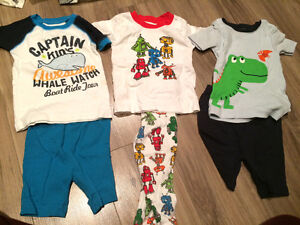Boys summer clothes 12 months shorts & pjs Carters