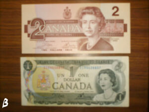 selling my collections off now  OLD CANADA NOTES
