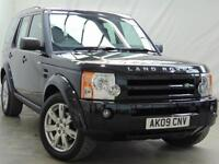 2009 Land Rover Discovery 3 TDV6 HSE Diesel black Automatic