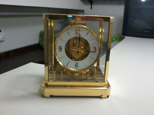 "*** ATMOS  CLOCK= GOLD FINISHED  ""PRESENTATION  CLOCK"""