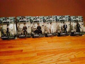 "Brand New - 6 Matrix ""The Film"" Figurines & Accessories!"