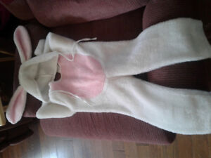 Bunny Costume size 2-4 years