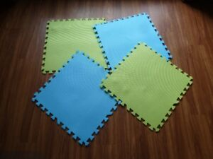 Interlocking foam mat