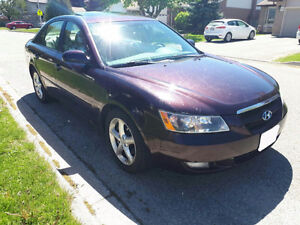 2006 Hyundai Sonata SAFTIED & E-TESTED LOW KMS KMS 48000!!!!!!!!