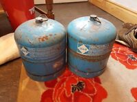Camping gas cylinders £20 each or £30 for both