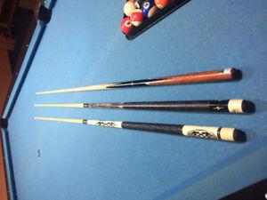 billiard stick