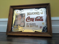Coca Cola Mirror Picture.