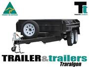 "10x5 TANDEM|HYDRAULIC TIPPER|FULL CHECKERPLATE|15""HIGH SIDE Traralgon East Latrobe Valley Preview"
