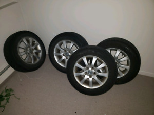 "4 16"" Lexus Rims with tires"