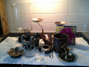 Variety of Candle Holders