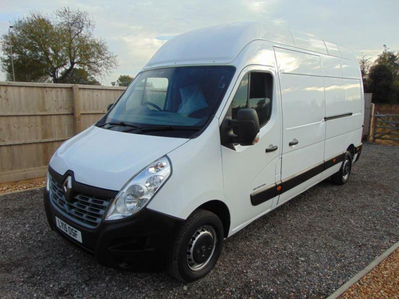1181ea9d3c (SOLD)2015 15 RENAULT MASTER LWB 2.3DCI 135BHP BUSINESS ENERGY EXTRA HIGH  ROOF
