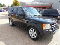 Land Rover Discovery 3 2.7TD V6 AUTO HSE 07/57 87K FSH FULLY LOADED TOW BAR