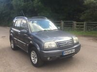 Suzuki Grandvitara manual 4x4 v6 petrol 5dr 1 lady owner from new