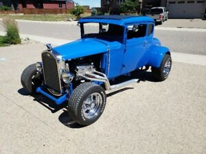 1931 Ford Model A 5 window coupe hot rod