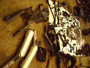 Parting Out 2008 Suzuki V-Strom DL1000 Headlight Fairing Cowl 08