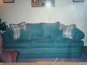 Sofa and chair $350