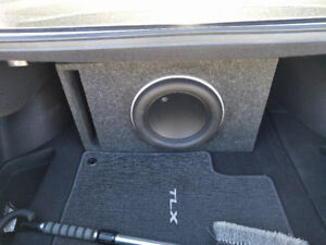 JL Audio 12W7-3 with 1000/1v2 slash amp and ported box