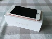 iPhone 6s 64gb Rose Gold EE