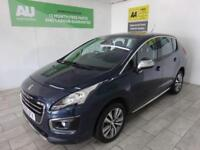 BLUE PEUGEOT 3008 1.6 BLUE HDI S/S ACTIVE ***FROM £206 PER MONTH***