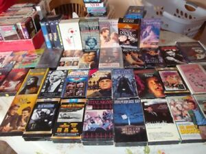 VHS MOVIE TAPES  63 TITLES LISTED!!! TAKE A LOOK !!!